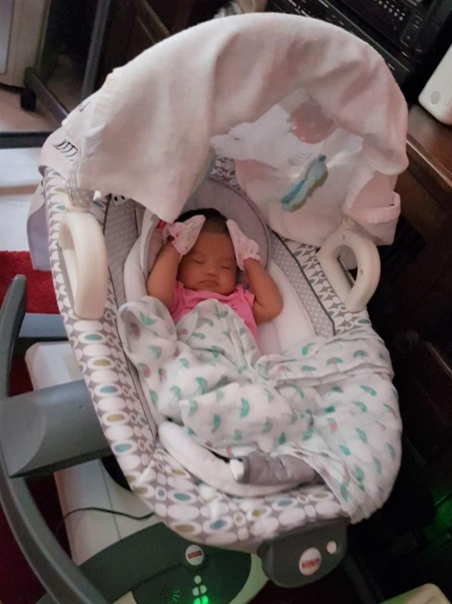 Baby Enya is 7 Weeks Old!